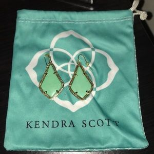 Authentic KS Alex Earrings in Turquoise
